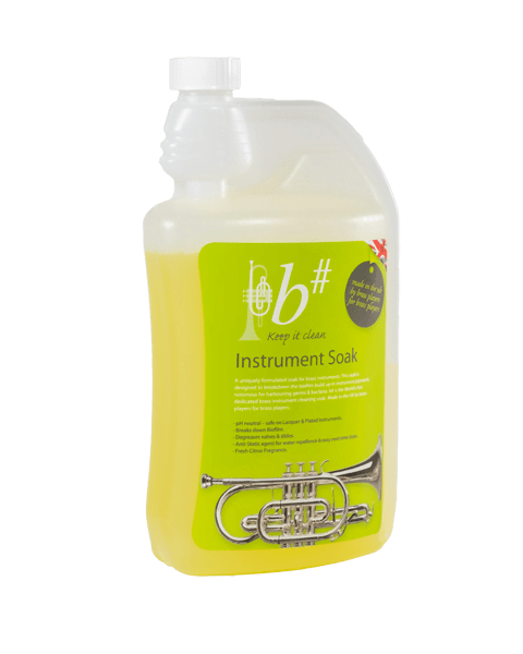b# brass instrument cleaning instrument soak