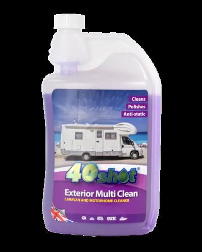 40shot exterior mutli clean dispensing bottle