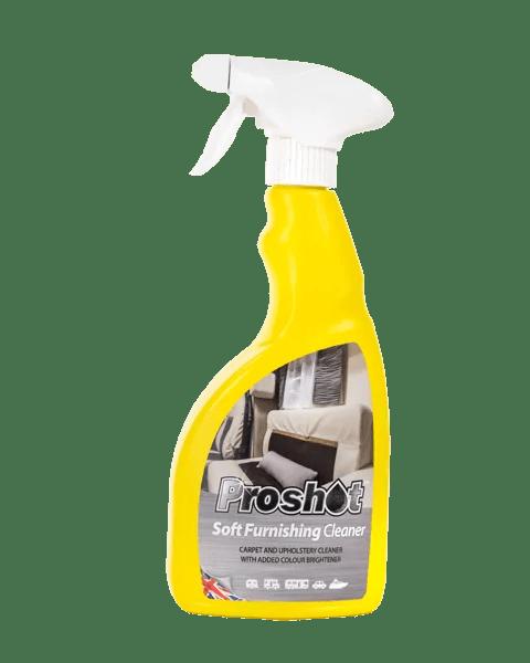 proshot soft furnishing cleaner spray bottle