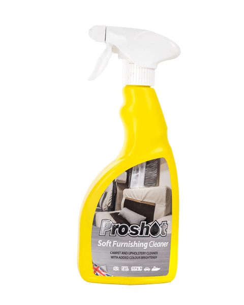proshot soft furnishing cleaner