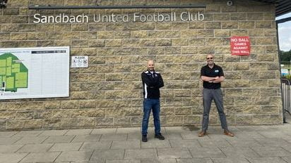 Ivan from qualkem and sandbach uniteds secretary