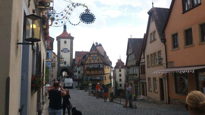 Rota romântica na Alemanha