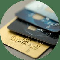 Tarjetas de crédito Quam