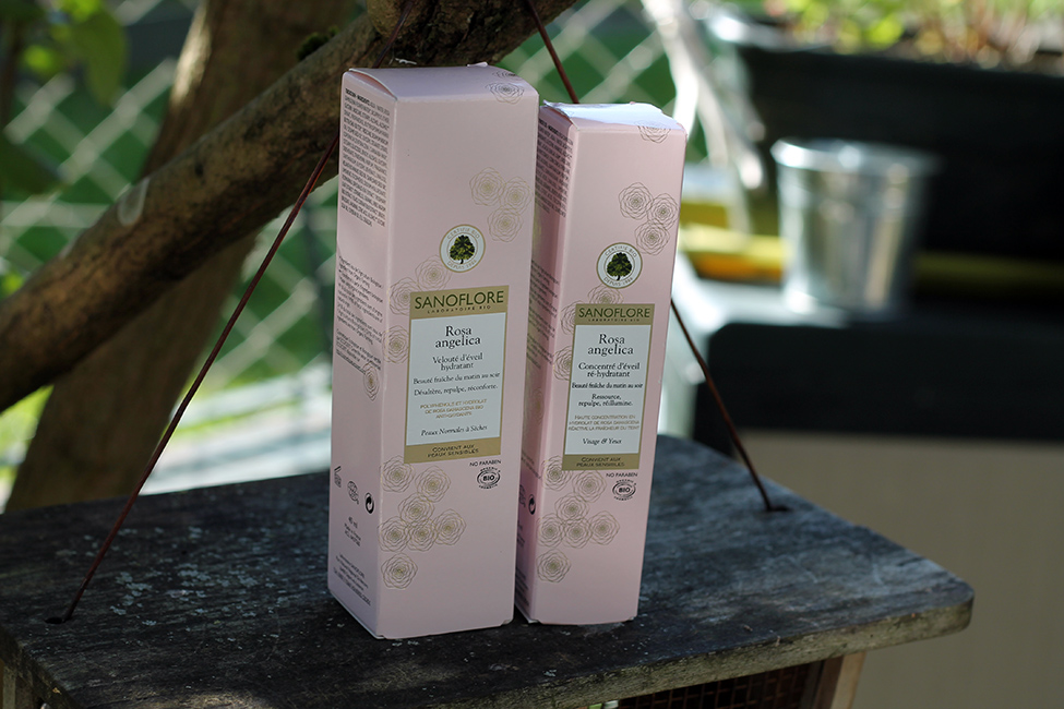 Gamme Rosa Angelica Sanoflore packaging