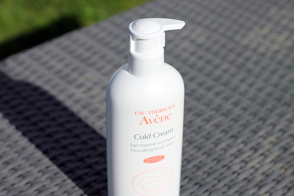 Gamme avène cold cream hiver corps