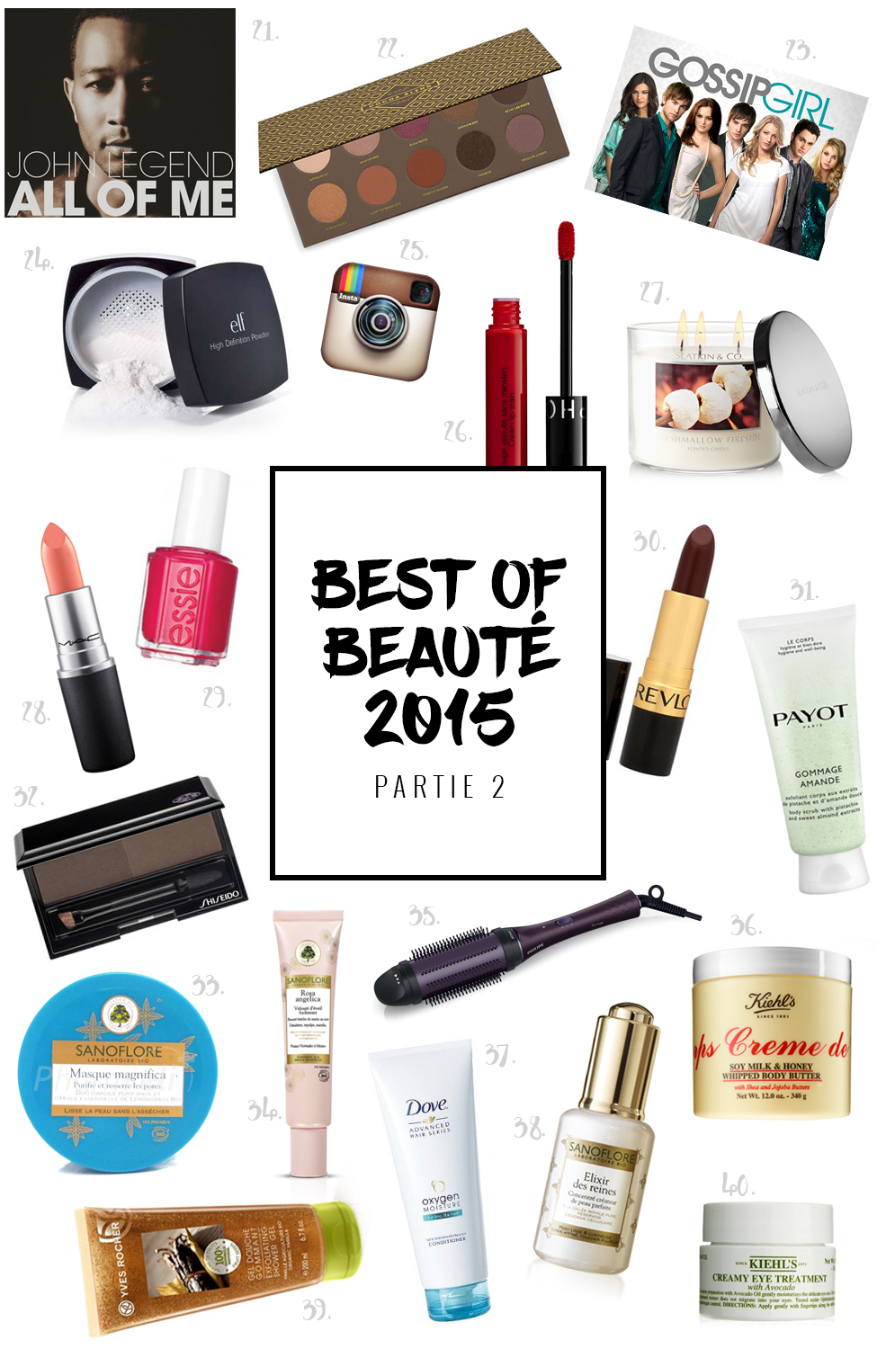 best of beauté 2015 partie 2