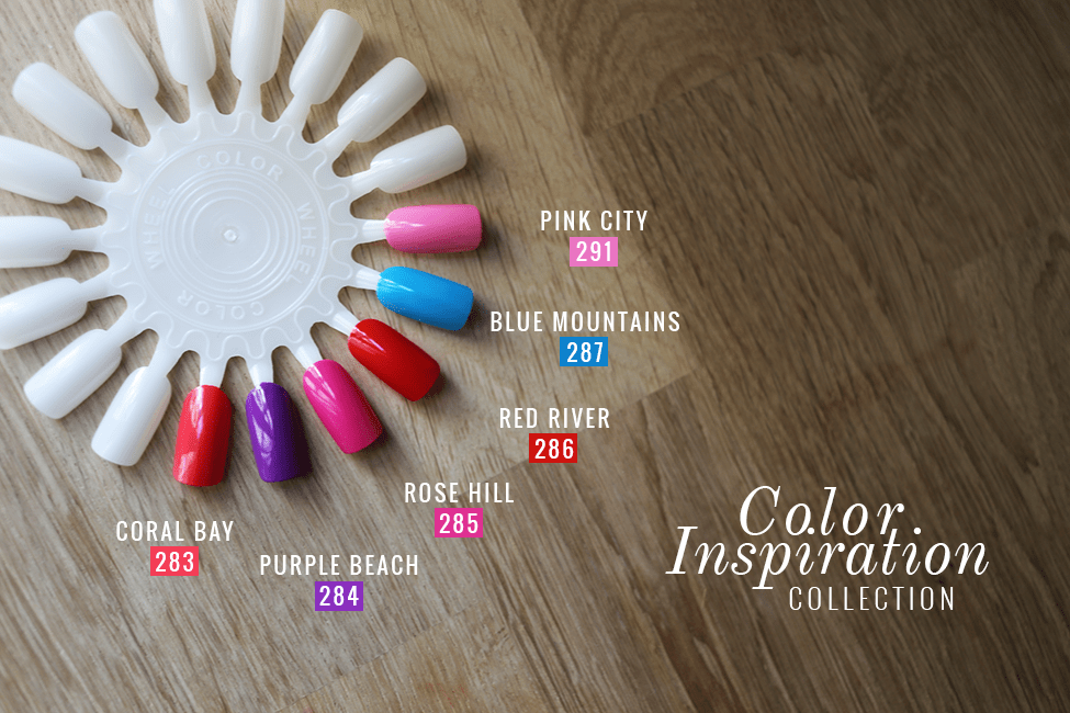 Collection Color Inspiration vernis Mavala