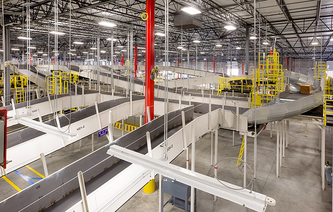 FedEx Ground New Sorting Facility  Quandel Construction