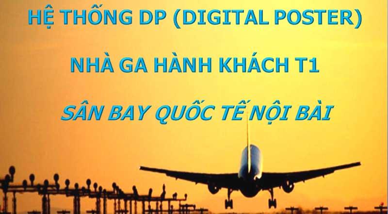 Báo giá quảng cáo tại sân bay Nội Bài