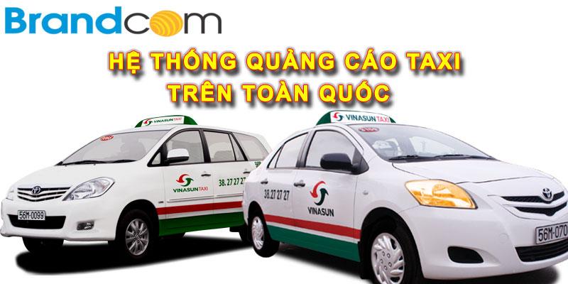Báo giá quảng cáo trên Taxi – Toàn Quốc