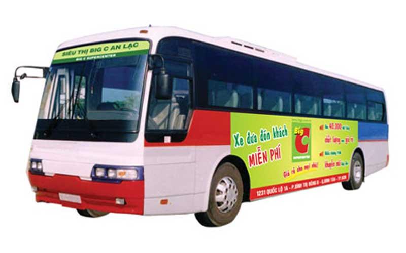Báo giá quảng cáo trên xe Bus – Miền Bắc