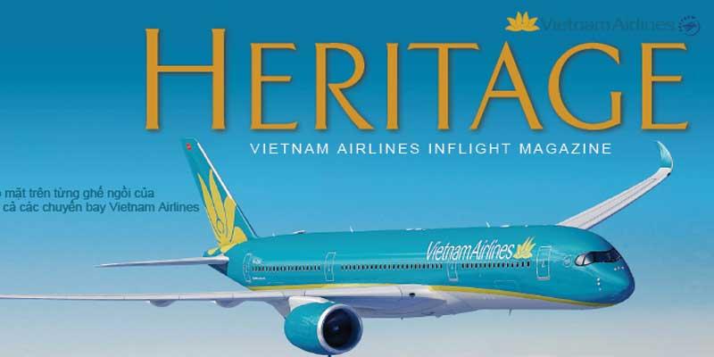 Bảng giá quảng cáo tạp chí Heritage – Tạp chí hàng không Việt Nam