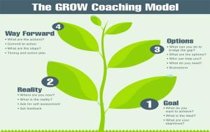 Mô hình quản lý nhân sự Grow, Mô hình huấn luyện Grow