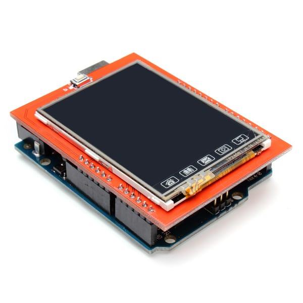 shield màn hình cảm ứng 2.4 arduino