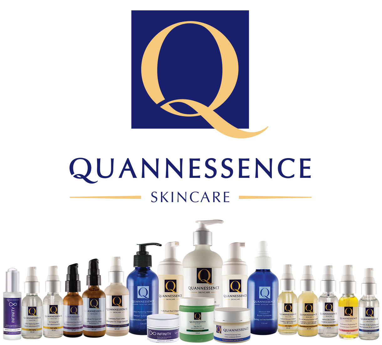 BioSpa Product Line - Quannessence