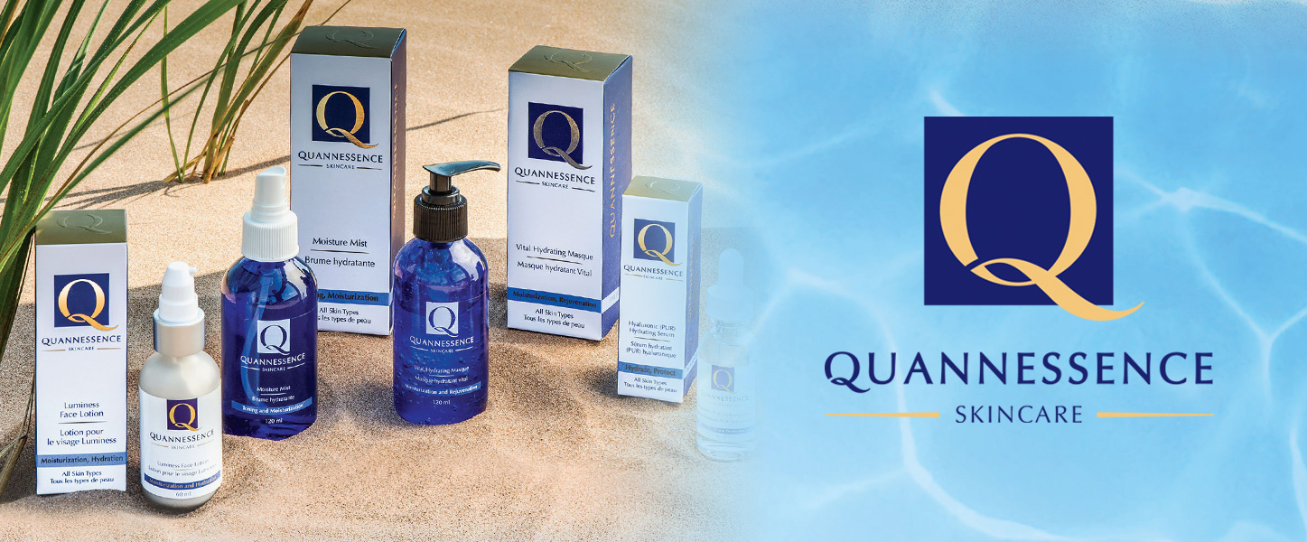 Quannessence products and logo