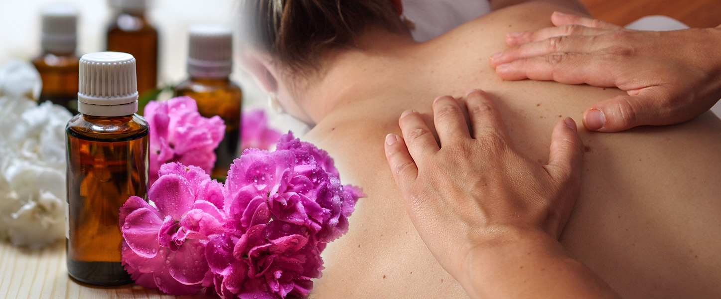 Body Balance Massage, oils, flowers