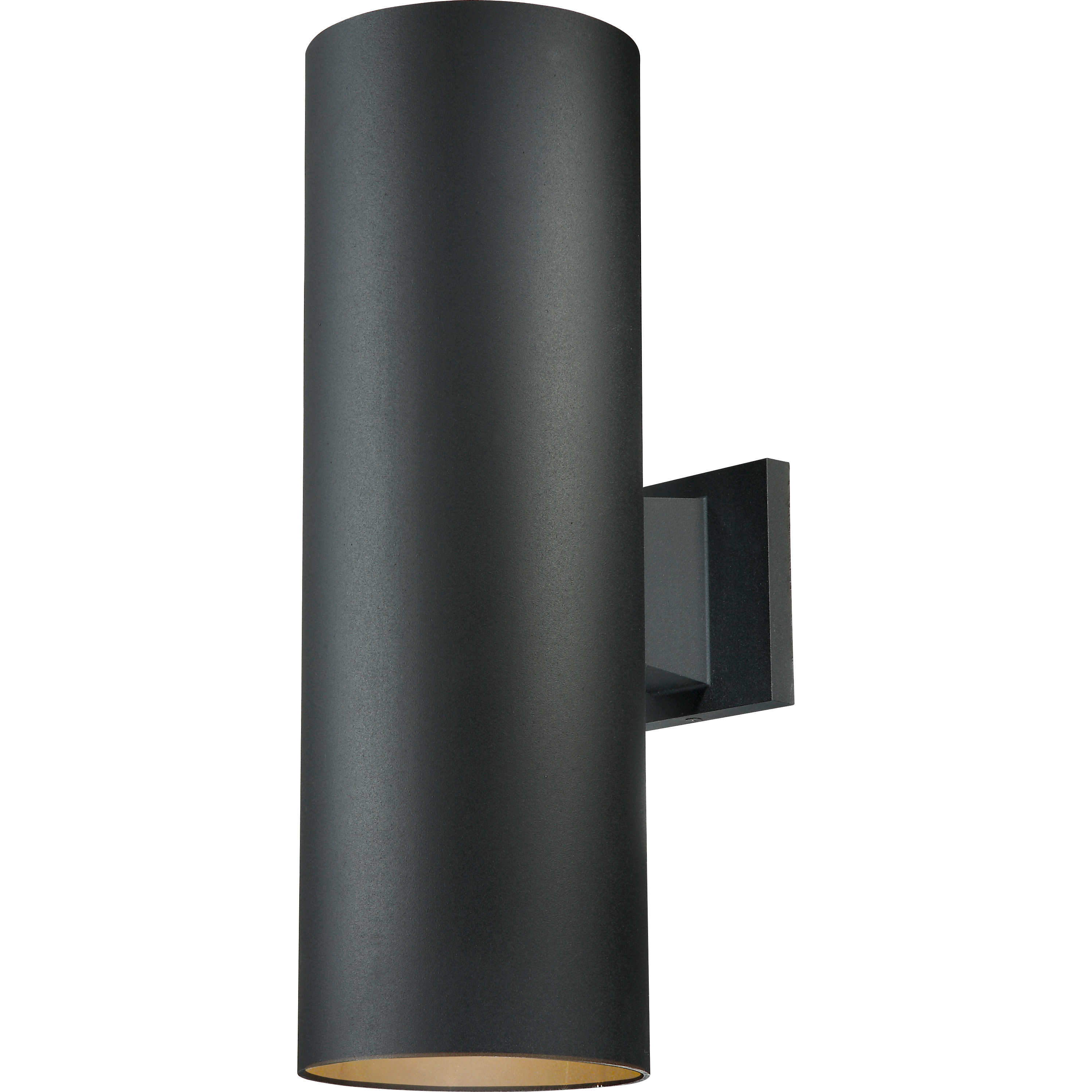 Cl604 Led Wall Mount Cylinder 6 Quot D X 18 Quot L Black White