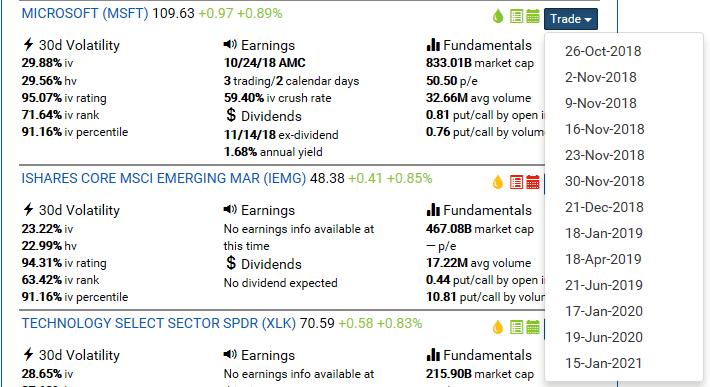 Stock Screener Results