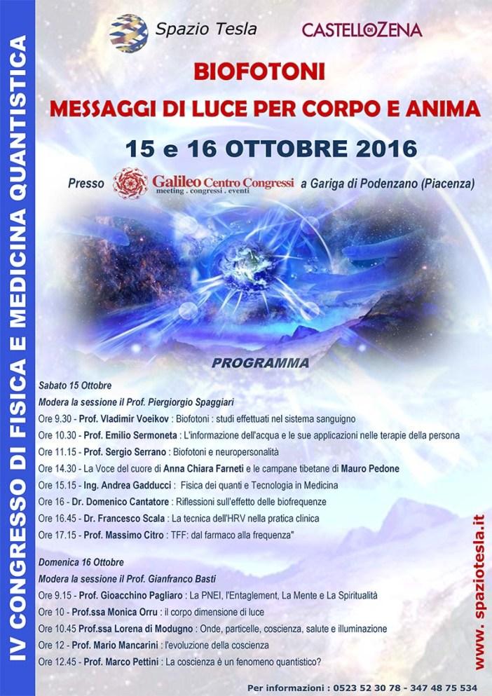 locandina BIOFOTONI 15 E 16 OTTOBRE 2