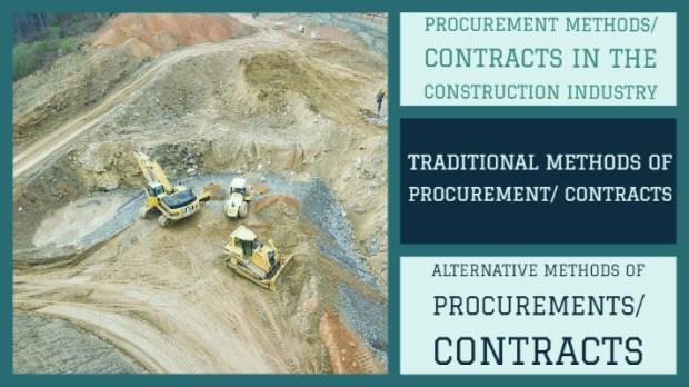 procurement methods in construction