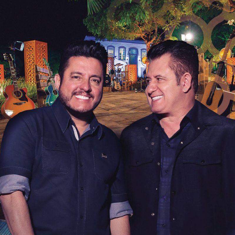 Bruno e Marrone no show Ensaios