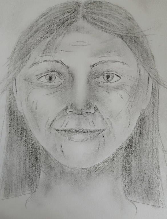 Charcoal Guide Portrait