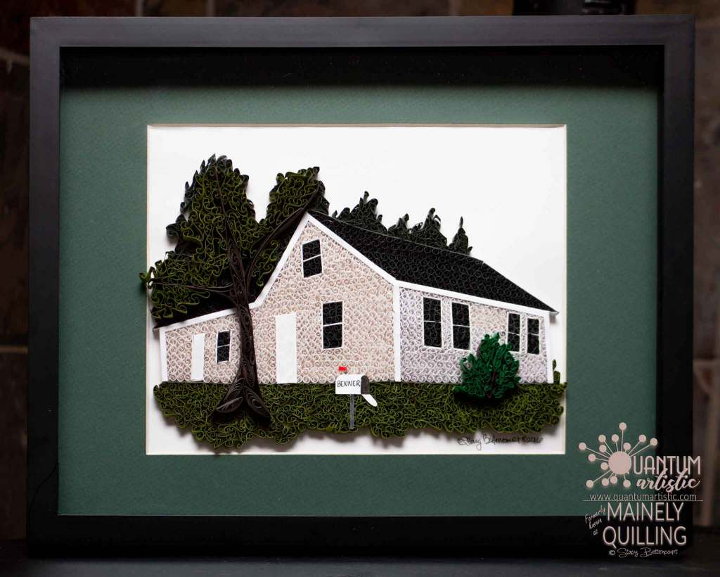 Paper Quilled Ancestral Home