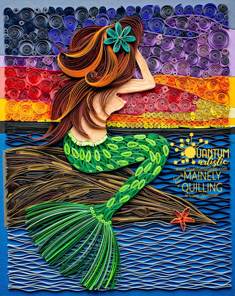 Siren's Song | My Second Quilled Mermaid