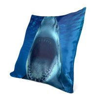 "Shark Printed Decorative Pillow  lothing Store ""Quantum ..."