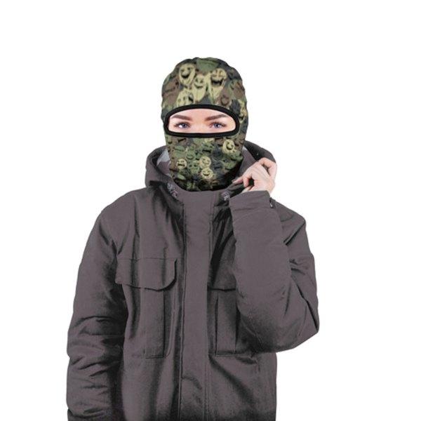 "Full Printed Ski Mask Balaclava ""smiles"" - Quantum"