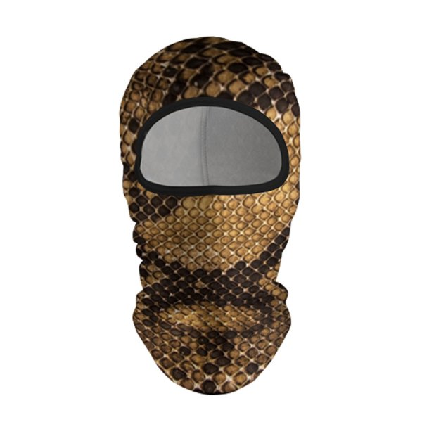 Full Printed Ski Mask Balaclava Snake Quantum