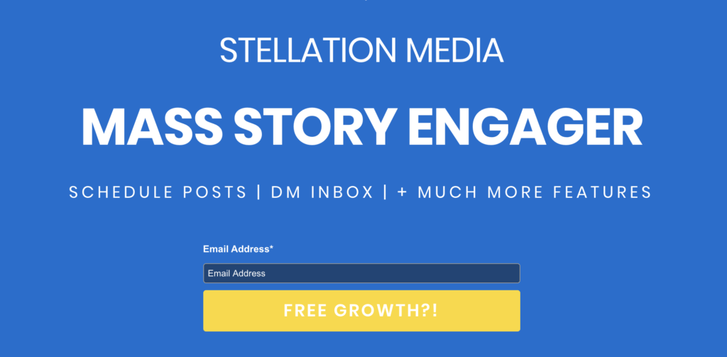 Outils Instagram - Engager Automatized Story Story
