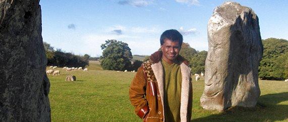 At Avebury