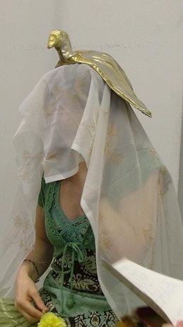 Head dress- Art of mani