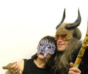 serpent mask2 & shaman- art of mani