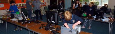 Building PCs at Quantum Code Club