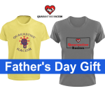 Why does the Quarantine Racism T Shirt make a good Father's Day gift?