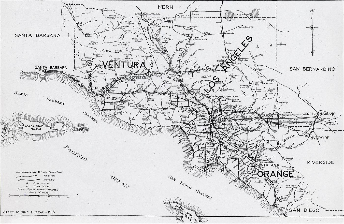 Old Us Elevation Map