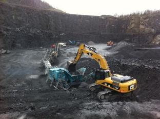 Lisduff Quarry Aggregate Production