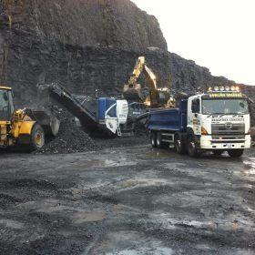 Lisduff Quarry Stone Crusing