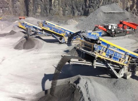Dowling Quarries Ltd Quarry Production