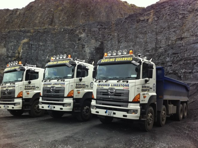 Dowling Quarries Ltd Aggregate Delivery Fleet