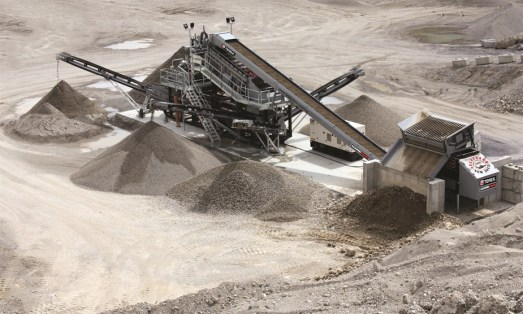 Dowling Quarries Ltd Washed Sand and Gravel Production