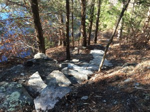 More stair-steps along the top path.
