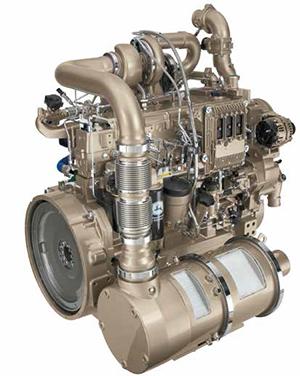 Tier 4 compliant John Deere IT4 engine