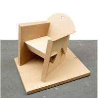 How To Make A Cardboard Chair. 1972 'Contour' Corrugated ...