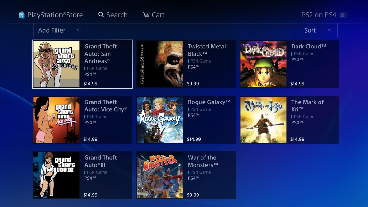 More Ps2 Games Now Available On Ps4 With Trophy Support