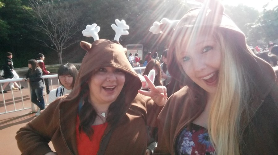 Why yes we have matching hoodies...it's the norm at Disney!