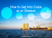 How to get into Cuba as an American People to People